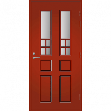 Pihla Ulko-ovi UO 125 Tuvanpunainen NCS S 4050-Y90R