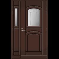 Pihla Ulko-ovi UO 130 lasilevikkeellä Tummanruskea RR32
