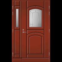 Pihla Ulko-ovi UO 130 lasilevikkeellä Tuvanpunainen NCS S 4050-Y90R