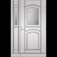 Pihla Ulko-ovi UO 130 lasilevikkeellä Valkoinen NCS S 0502-Y