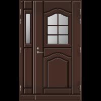 Pihla Ulko-ovi UO 140 lasilevikkeellä Tummanruskea RR32