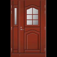 Pihla Ulko-ovi UO 140 lasilevikkeellä Tuvanpunainen NCS S 4050-Y90R