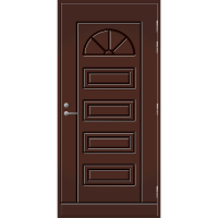 Pihla Ulko-ovi UO 151 Tummanruskea RR32