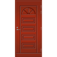 Pihla Ulko-ovi UO 151 Tuvanpunainen NCS S 4050-Y90R