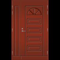 Pihla Ulko-ovi UO151 umpilevikkeellä Tuvanpunainen NCS S 4050-Y90R