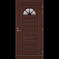 Ulko-ovi UO 153 Tummanruskea RR32