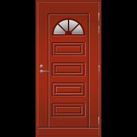 Ulko-ovi UO 153 Tuvanpunainen NCS S 4050-Y90R
