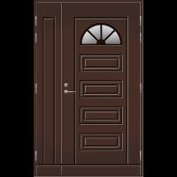 Pihla Ulko-ovi UO153 umpilevikkeellä Tummanruskea RR32