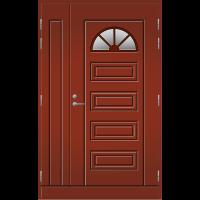 Pihla Ulko-ovi UO153 umpilevikkeellä Tuvanpunainen NCS S 4050-Y90R