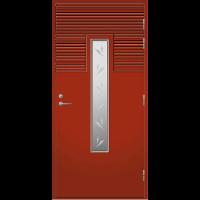 Ulko-ovi UO 160 Tuvanpunainen NCS S 4050-Y90R
