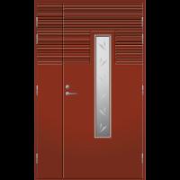 Pihla Ulko-ovi UO 160 umpilevikkeellä Tuvanpunainen NCS S 4050-Y90R