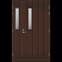 Pihla Ulko-ovi UO 162 umpilevikkeellä Tummanruskea RR32