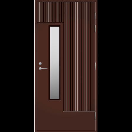 Pihla Ulko-ovi UO 163 Tummanruskea RR32