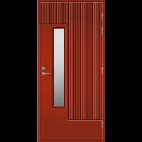 Pihla Ulko-ovi UO 163 Tuvanpunainen NCS S 4050-Y90R