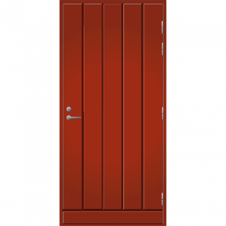Pihla Ulko-ovi UO 164 Tuvanpunainen NCS S 4050-Y90R