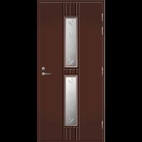 Pihla Ulko-ovi UO 165 Tummanruskea RR32