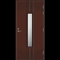 Pihla Ulko-ovi UO 166 Tummanruskea RR32