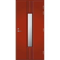 Pihla Ulko-ovi UO 166 Tuvanpunainen NCS S 4050-Y90R