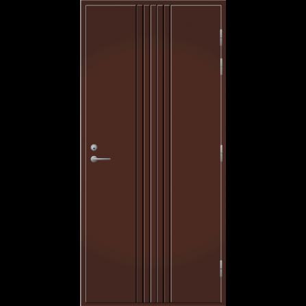 Pihla Ulko-ovi UO 167 Tummanruskea RR32