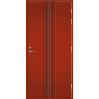 Pihla Ulko-ovi UO 167 Tuvanpunainen NCS S 4050-Y90R
