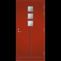 Ulko-ovi UO 170 Tuvanpunainen NCS S 4050-Y90R