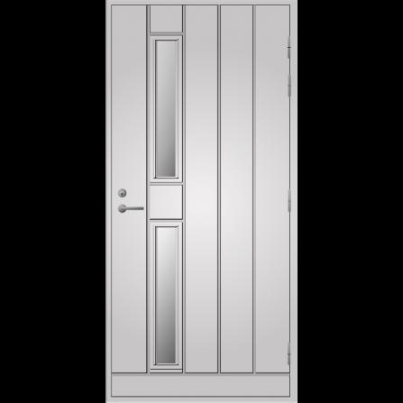 Pihla Ulko-ovi UO 192 Valkoinen NCS S 0502-Y