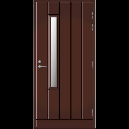 Ulko-ovi UO 192X Tummanruskea RR32