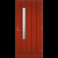 Ulko-ovi UO 192X Tuvanpunainen NCS S 4050-Y90R