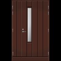 Pihla Ulko-ovi UO 192X Umpilevikkeellä Tummanruskea RR32