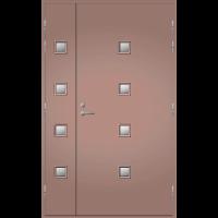 Pihla Ulko-ovi UO 205 Lasilevikkeellä Beige NCS S 4010-Y30RV