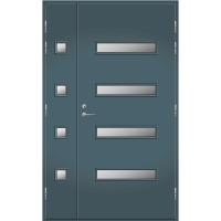 Pihla Ulko-ovi UO 208 Lasilevikkeellä Siniharmaa NCS S 6010-R90B