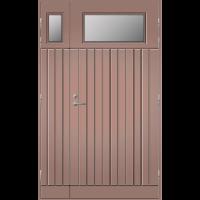 Pihla Ulko-ovi UO 210 Lasilevikkeellä Beige NCS S 4010-Y30RV