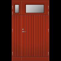 Pihla Ulko-ovi UO 210 Lasilevikkeellä Tuvanpunainen NCS S 4050-Y90R