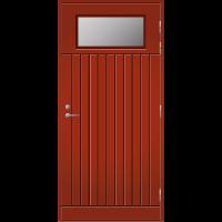 Pihla Ulko-ovi UO 210 Tuvanpunainen NCS S 4050-Y90R