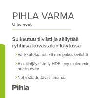 Pihla-ulko-ovet – Varma valinta Suomen säihin