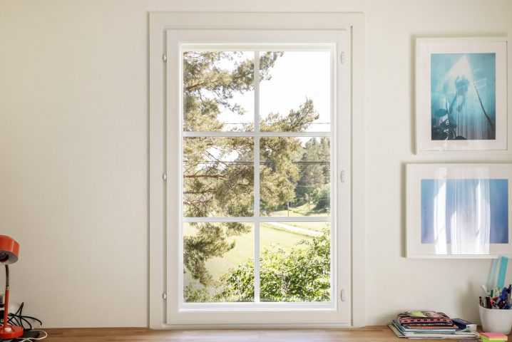 Myös ilmanvaihto parani, kun vanhaan taloon vaihdettiin uudet ikkunat.