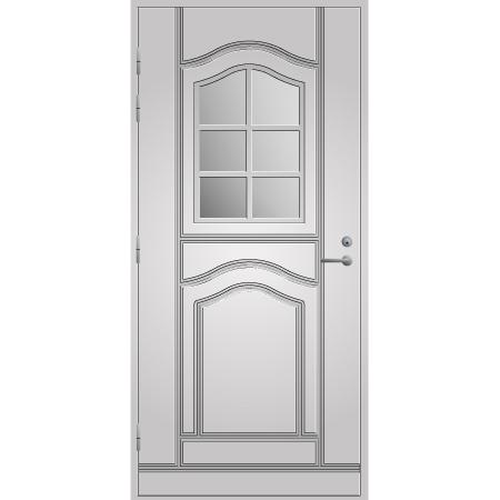 Pihla ulko-ovi UO140. Valkoinen