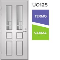 UO125 lasiaukollinen vasenkätinen ulko-ovi