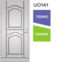 Ulko-ovi UO141 valkoinen vasenkätinen umpiovi
