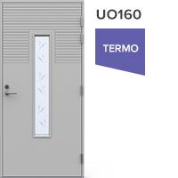Ulko-ovi UO160 lasiaukolla vasenkätinen