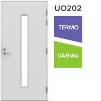 Pihla ulko-ovi UO202, vasenkätinen