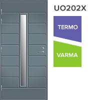 Pihla ulko-ovi UO202X, vasenkätinen